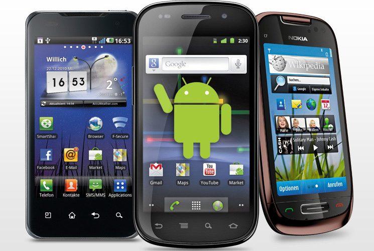 hp Android keluaran 2011