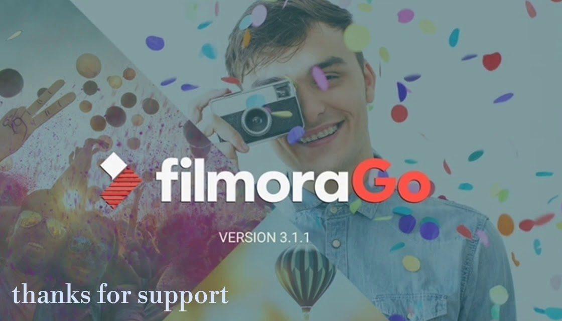 aplikasi edit video filmora go