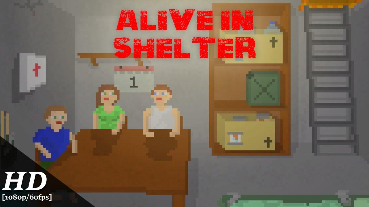 permainan alive in shelter