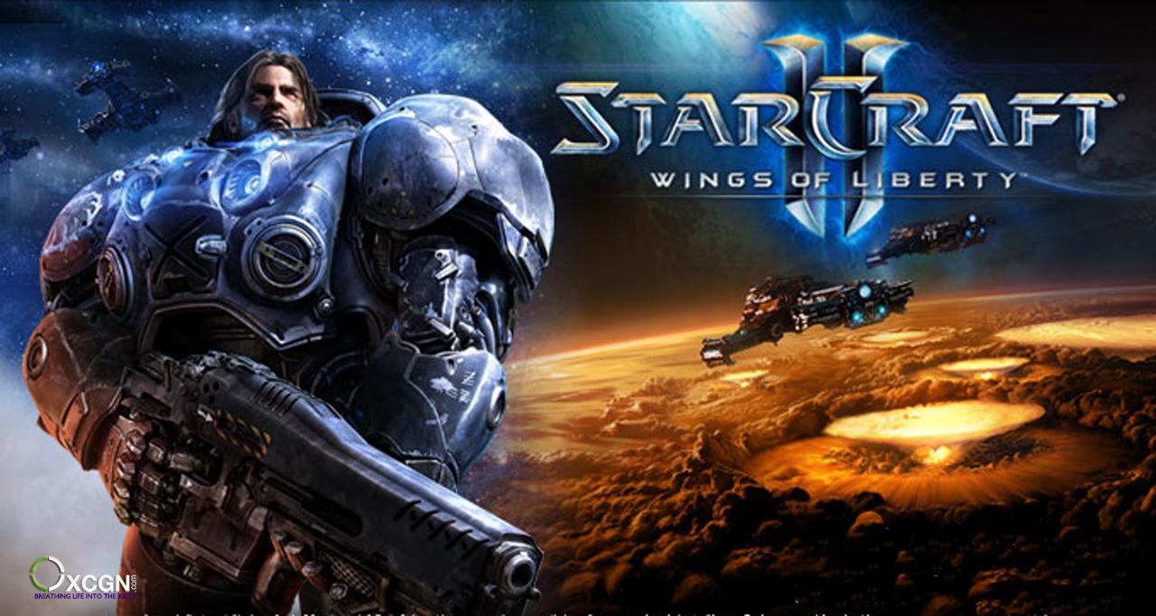 game luar angkasa Starcraft II: Wings of Liberty