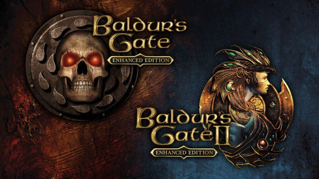 permainan di laptop Baldur's Gate
