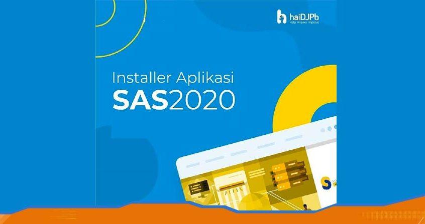 cara instal aplikasi SAS