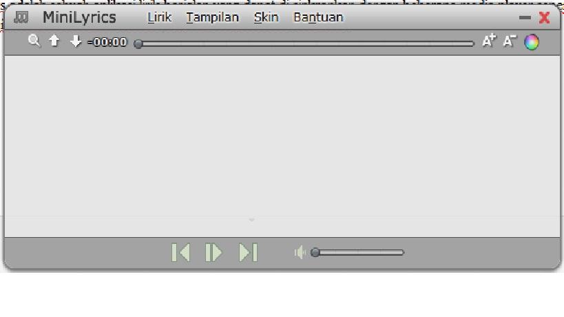 aplikasi mini lyric untuk karaoke