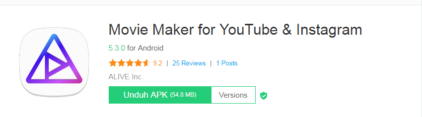 Aplikasi Movie Maker