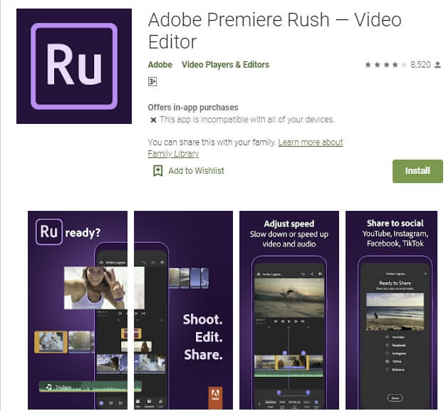 adobe premiere rush aplikasi edit video