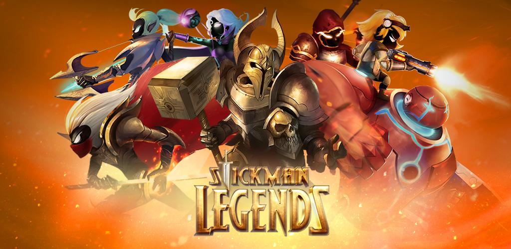 game Stickman Legends: Shadow Wars