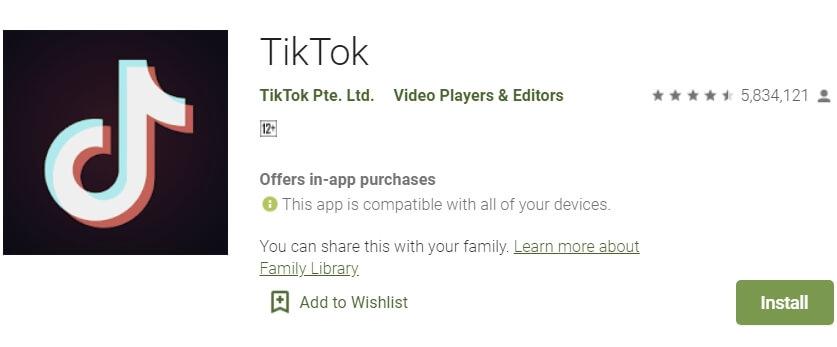 download aplikasi tiktok