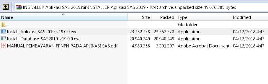 cara instal & download aplikasi SAS