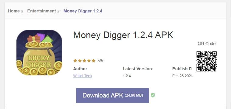 aplikasi money digger penghasil uang
