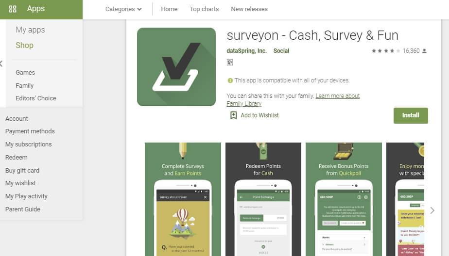aplikasi agar mendapatkan uang