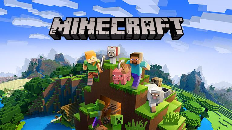 permainan minecraft di PC