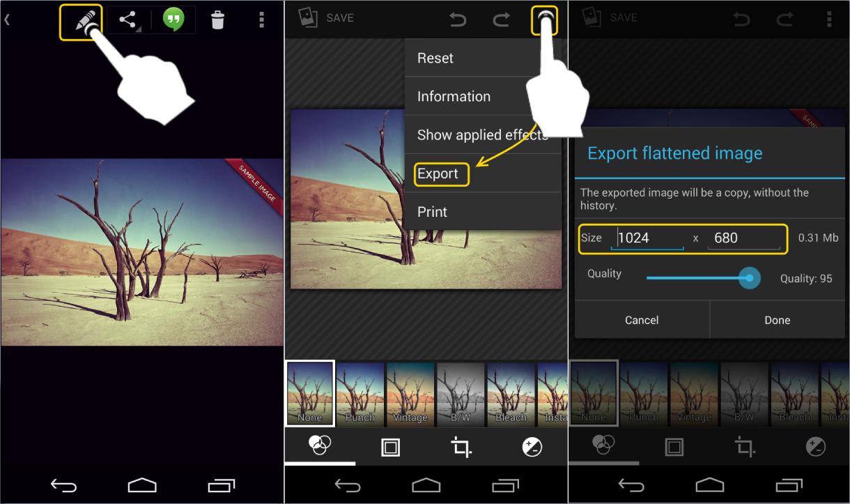 aplikasi mengecilkan foto di Android