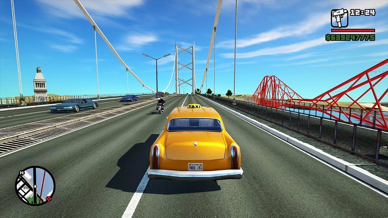 Main GTA San Andreas dengan cheat berikut