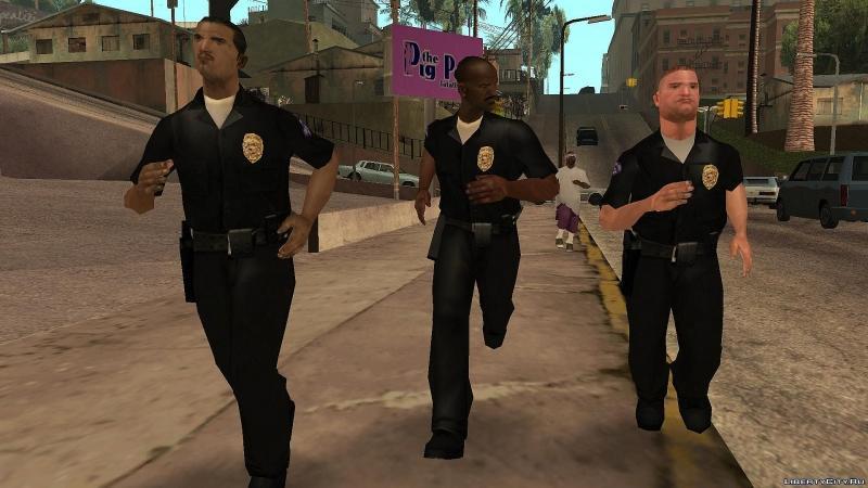 GTA San Andreas cheat damai dengan polisi
