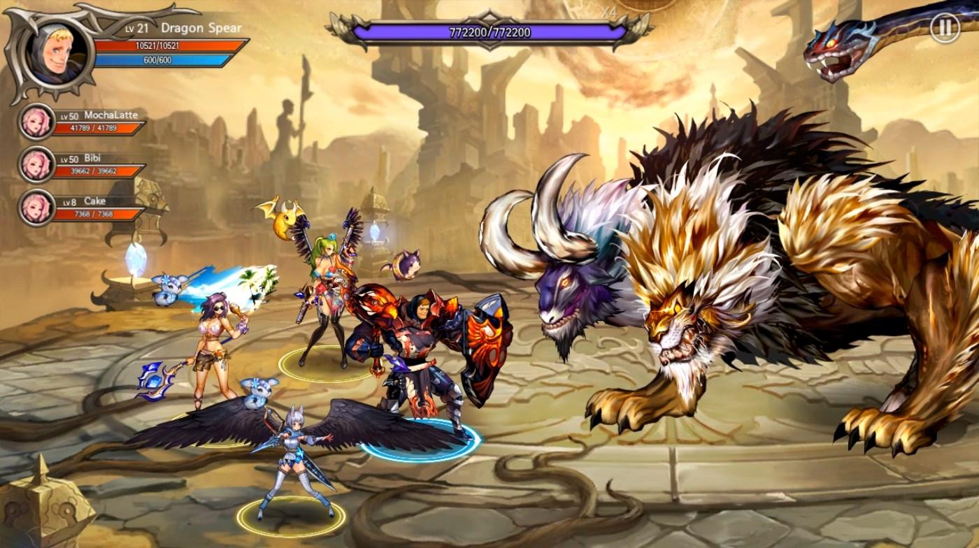 permainan pertarungan petualangan