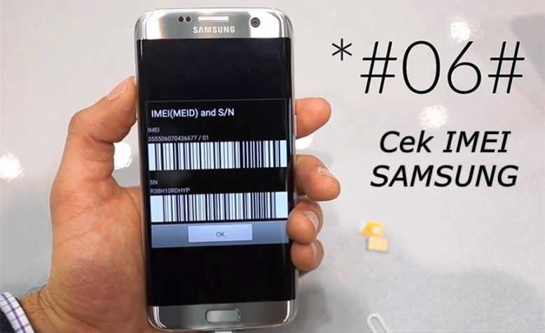cara cek IMEI Samsung SEIN