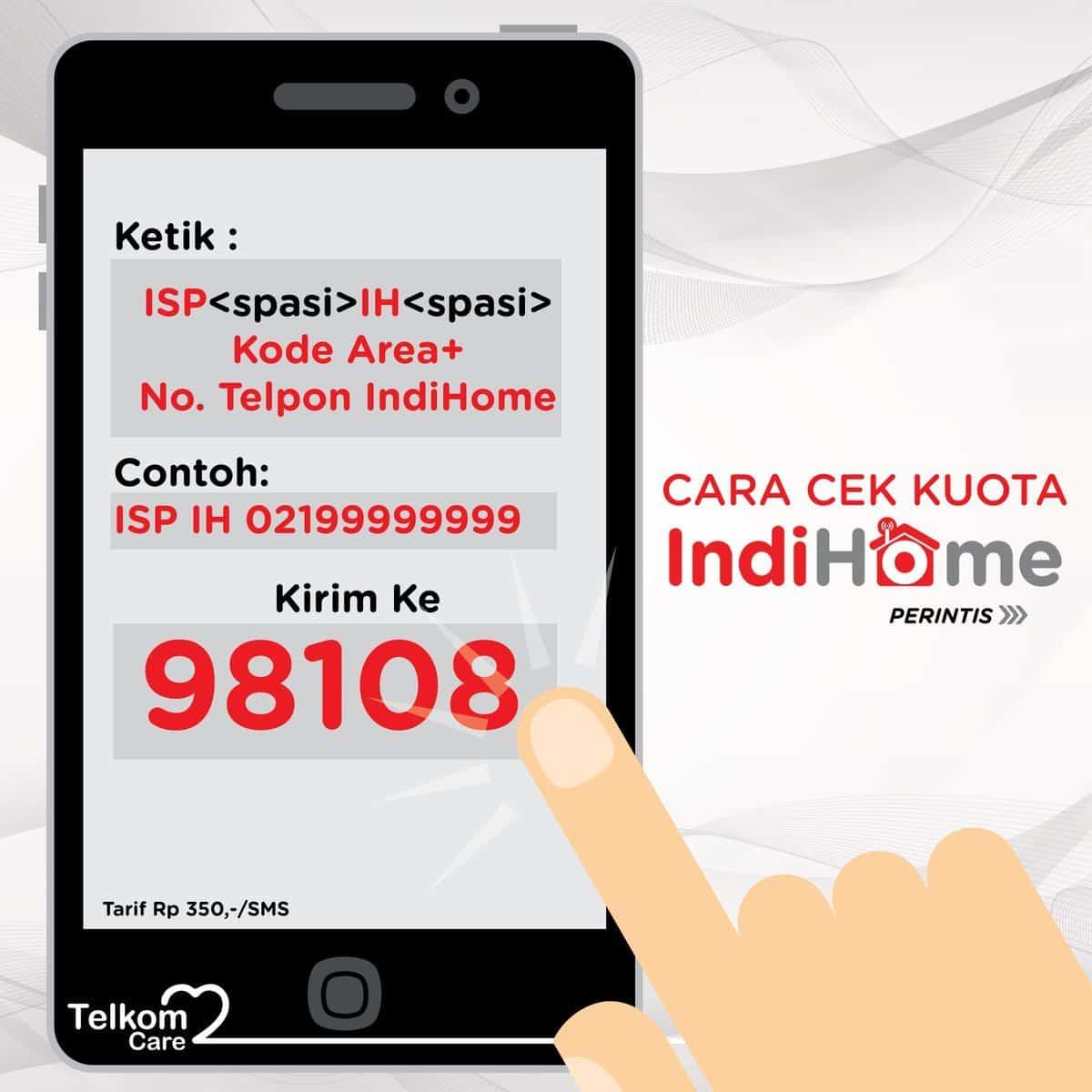 Indihome via SMS