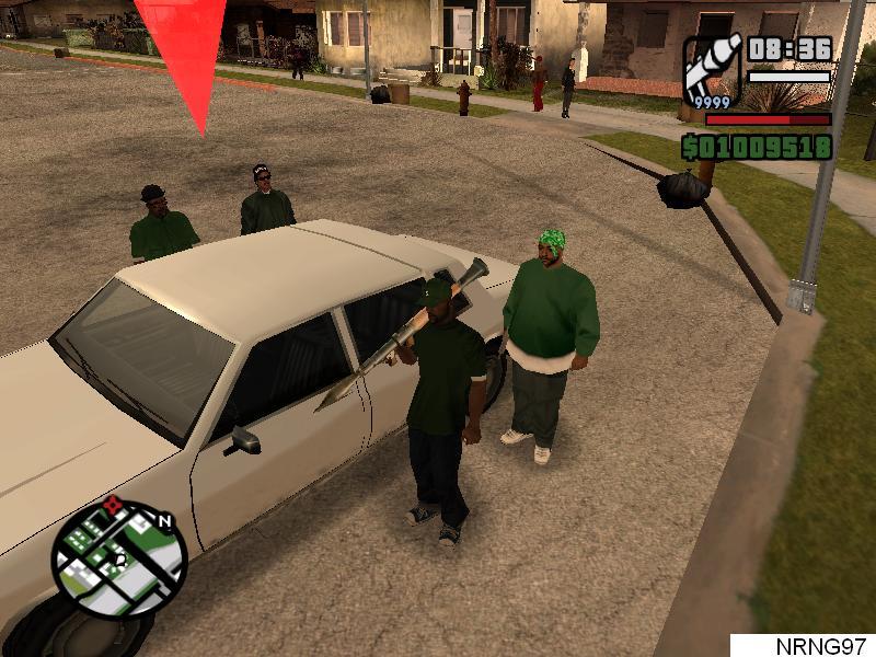 Main Multiplayer di GTA San Andreas PC