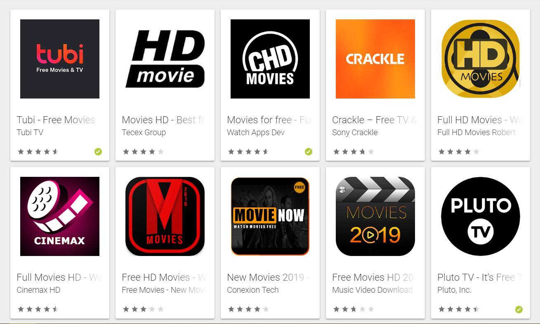 Aplikasi download film di Android