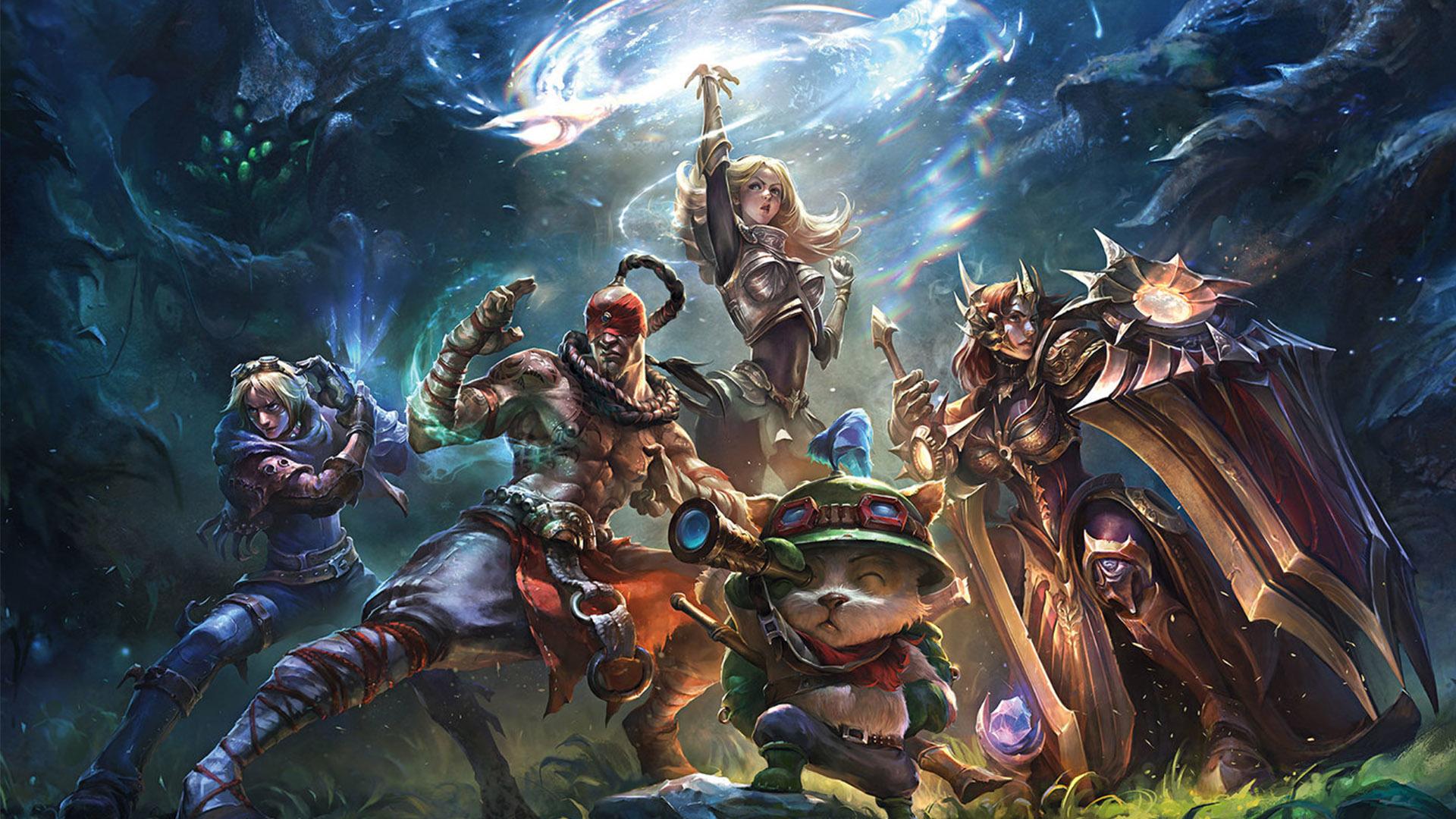 permainan league of legend