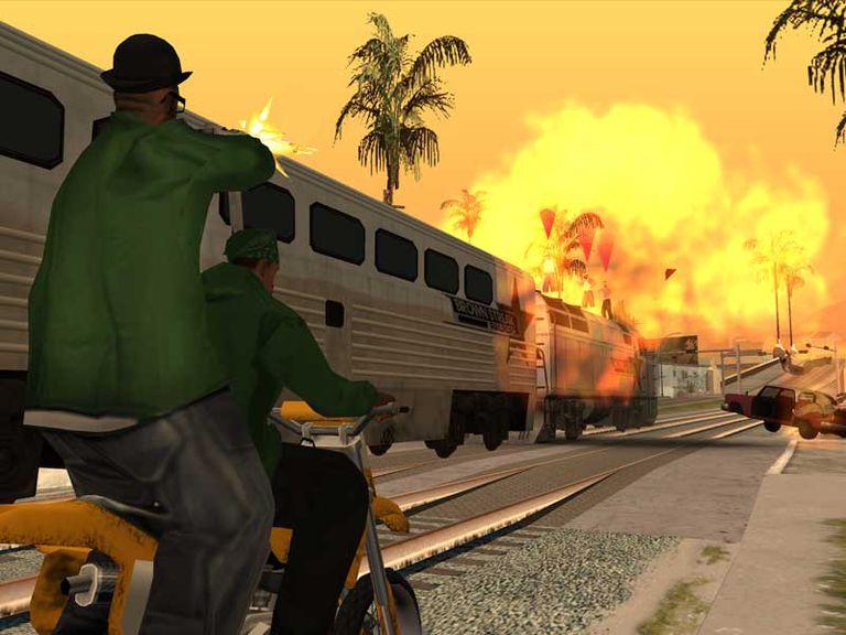 permainan GTA San Andreas Cheat untuk PC