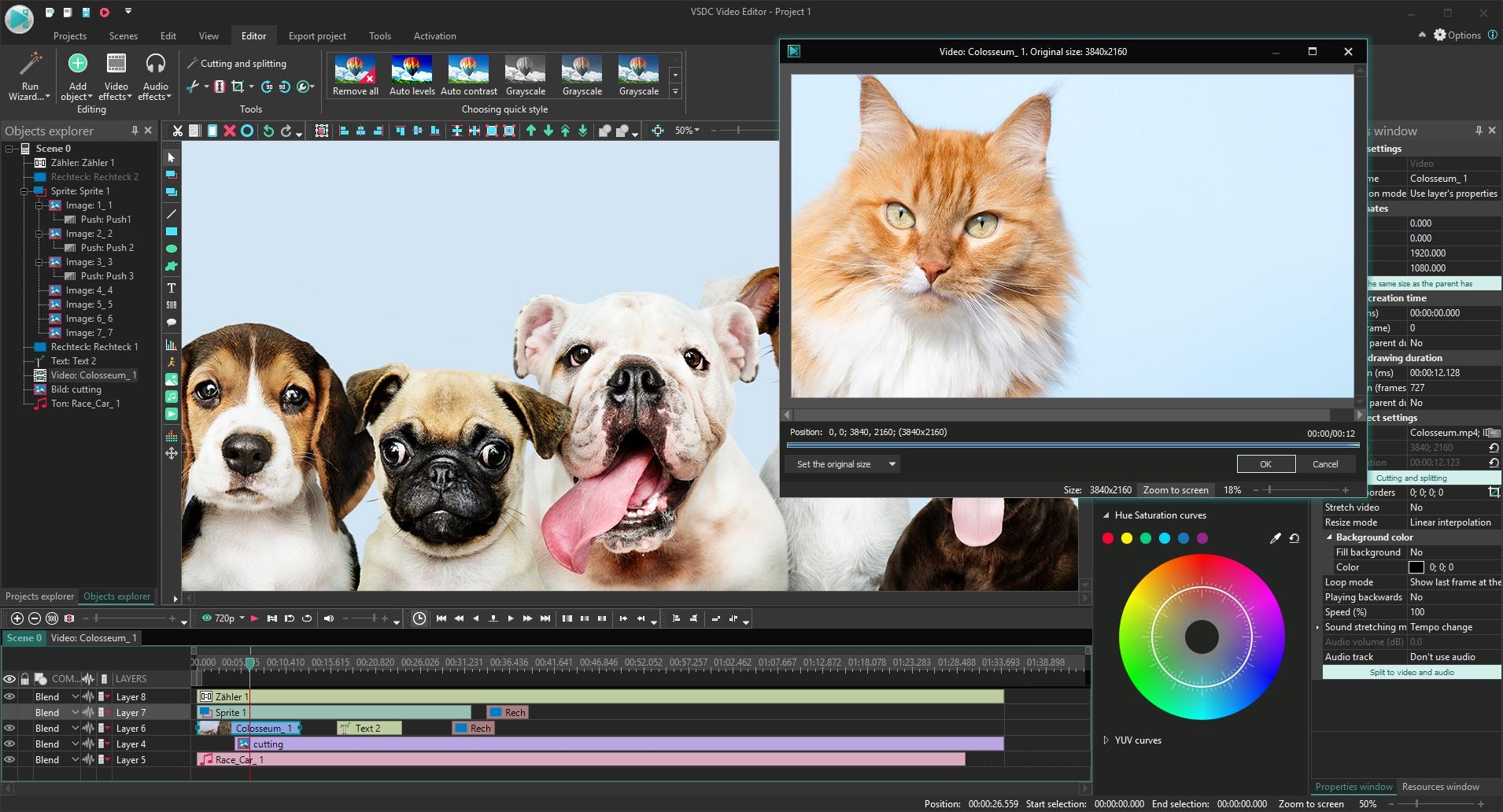 aplikasi untuk menggabungkan video di komputer