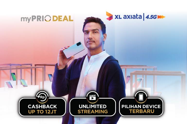 Paket Internet XL Prioritas myPRIO Plan (Pasca Prabayar)