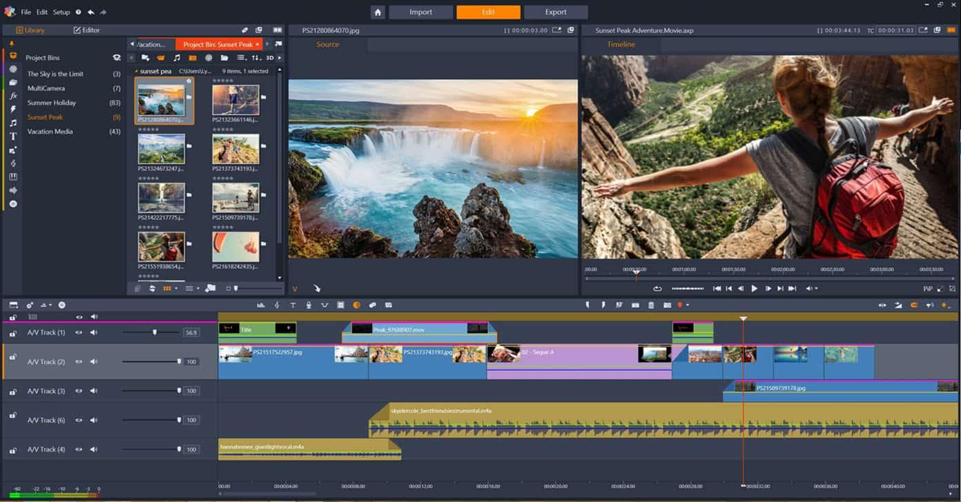 download aplikasi pinnacle untuk menngedit video di PC