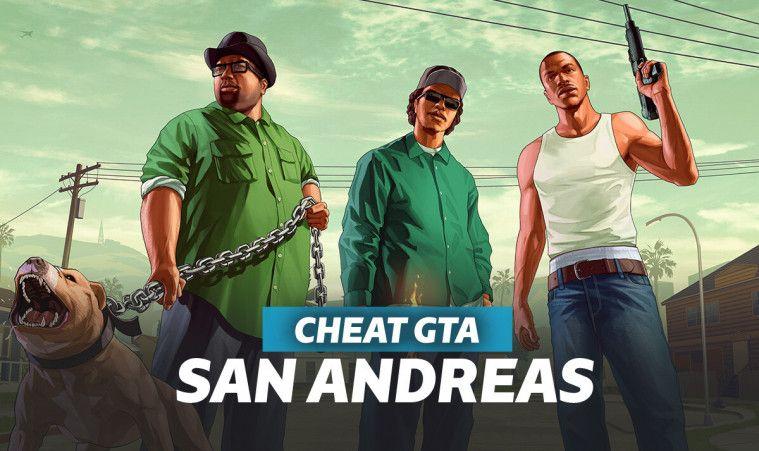 kumpulan cheat GTA SA