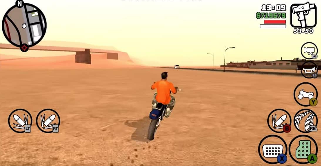 kendaraan di GTA San Andreas