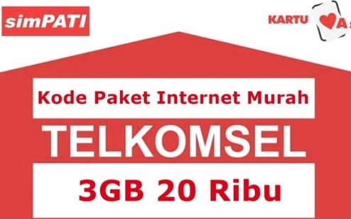 kode paket internet telkomsel