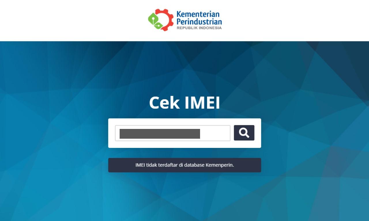 aplikasi cek IMEI