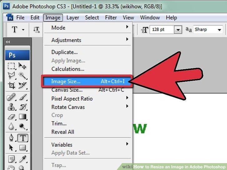 cara mengecilkan gambar di laptop