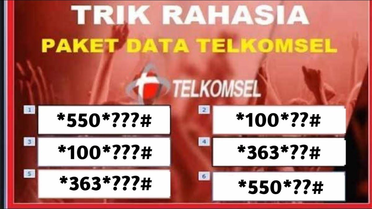 kode rahasia internet murah telkomsel