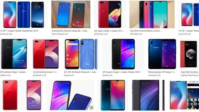 daftar harga ponsel 1 jutaan