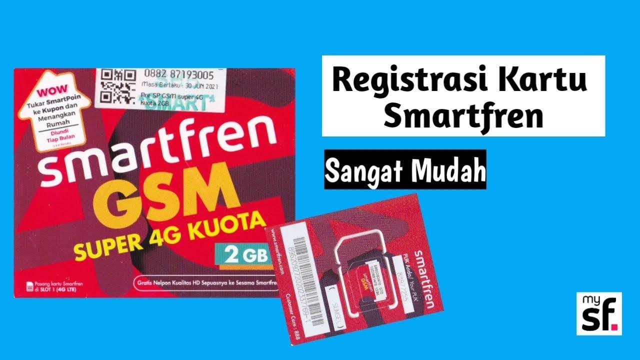 cara registrasi kartu smartfren