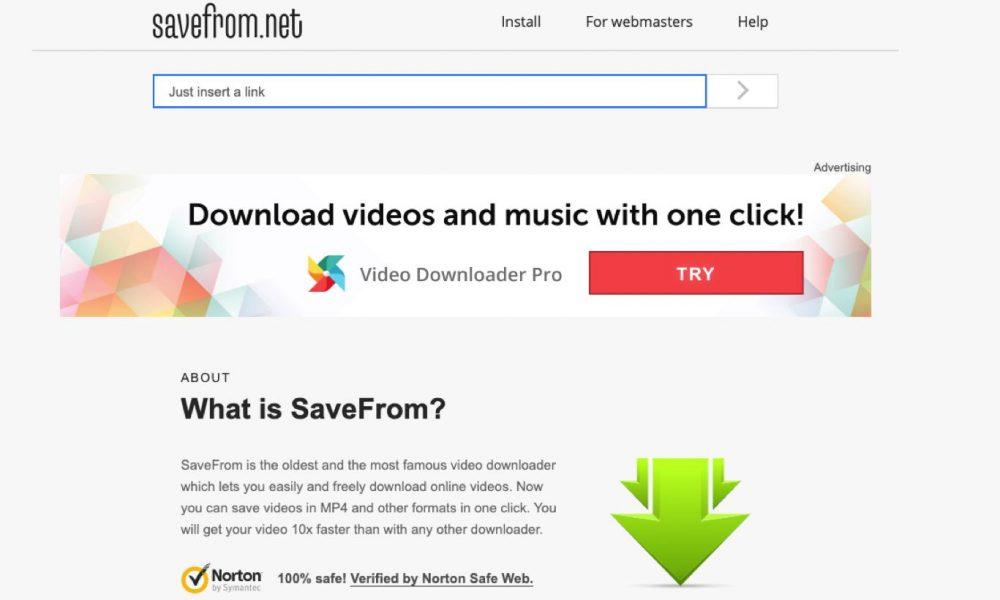 download video facebook di website