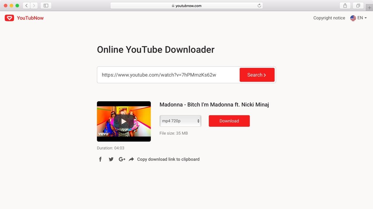 situs web untuk download video youtube
