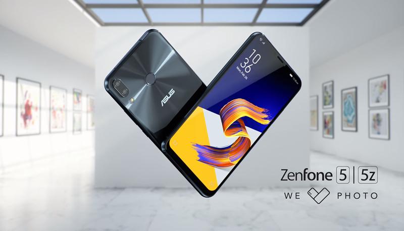 Asus Zenfone 5 dengan NFC