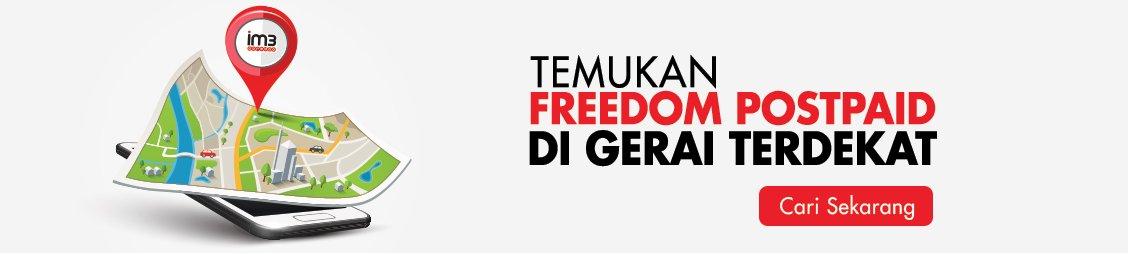postpaid freedom indosat