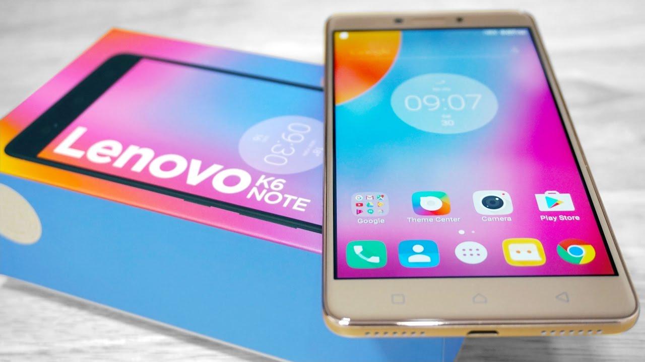 Review Lenovo K6 Note