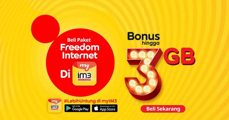 paket internet freedom indosat