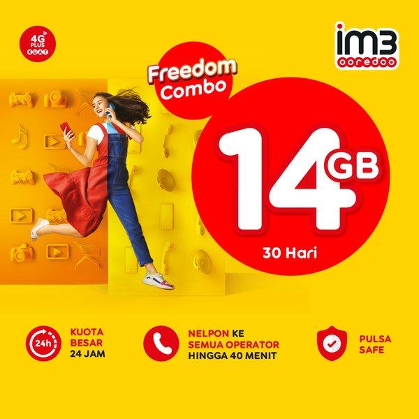 paket freedom combo 14GB