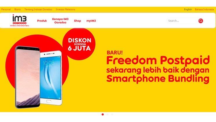freedom postpaid indosat