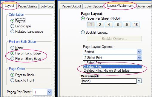 cara melakukan print pada kertas secara bolak-balik