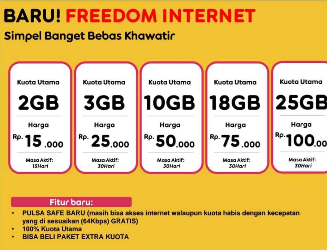paket internet freedom