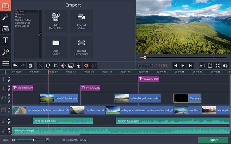 Movavi Video Editor tanpa watermark