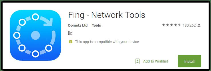 fing network tool untuk bobol wifi