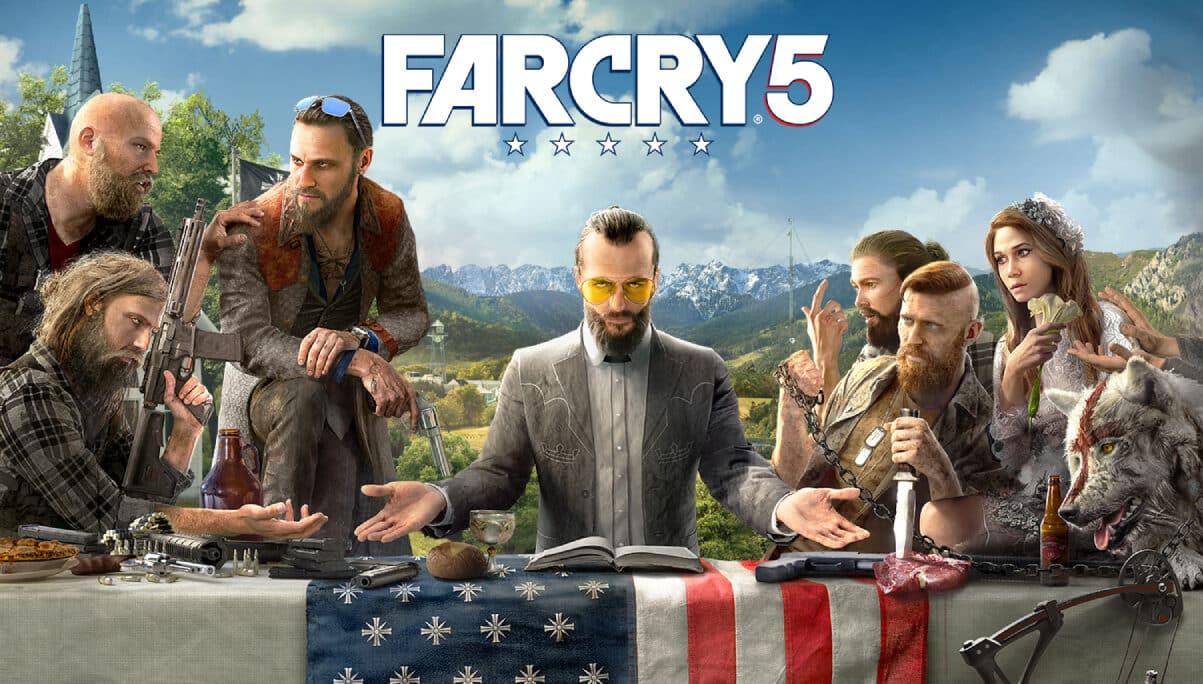 main game far cry 5